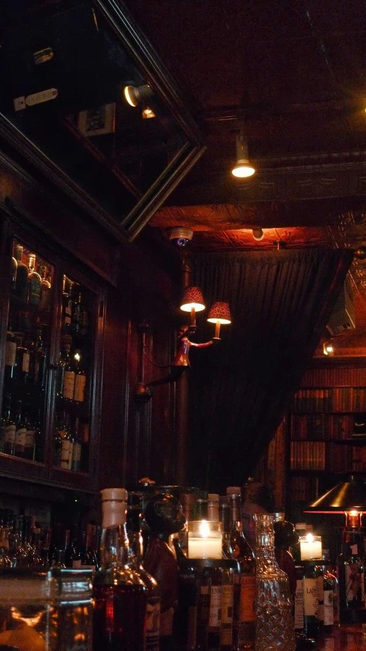 Monkeys at the Hudson Bar and Books, New York, NY