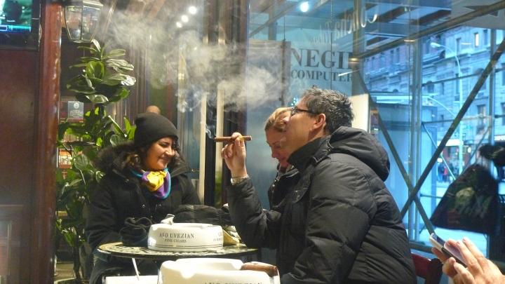 At De La Concha Tobacconist, New York, NY / Leica D-Lux 4