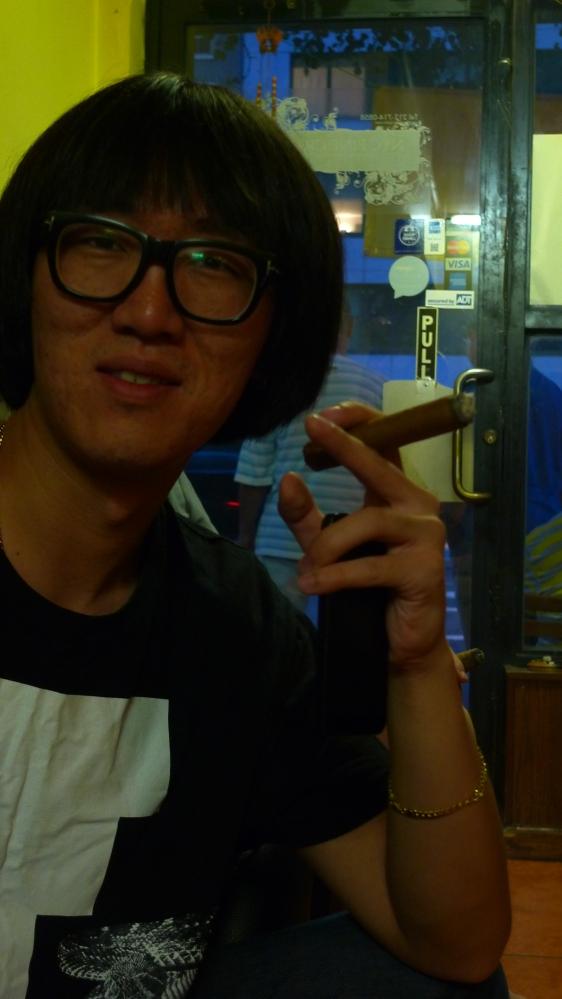 Xu Leiming (Fender Hsu) / NYC Fine Cigars, New York, NY / Leica D-Lux 4