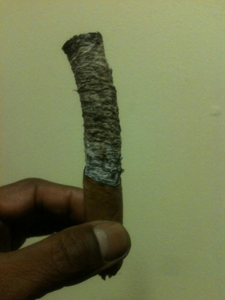 On October 16, 2013 / NYC Fine Cigars, New York, NY / iPhone 3