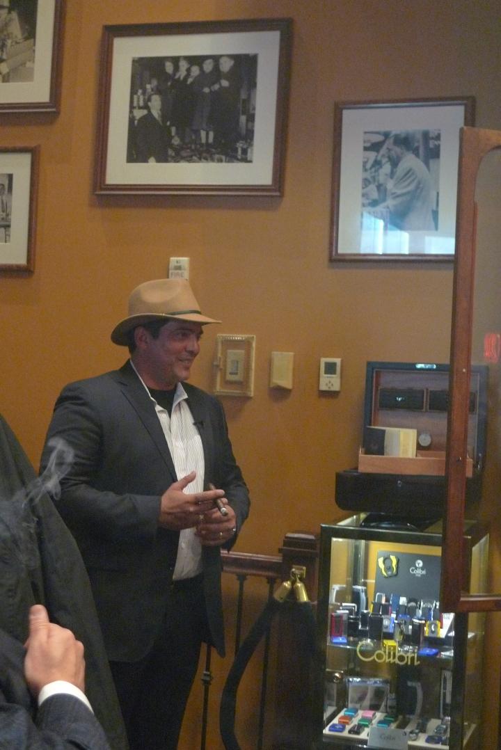 Hirochi Robaina, tobacco farmer (Finca El Pinar) and cigar blender / Nat Sherman, New York, NY / Leica D-Lux 4
