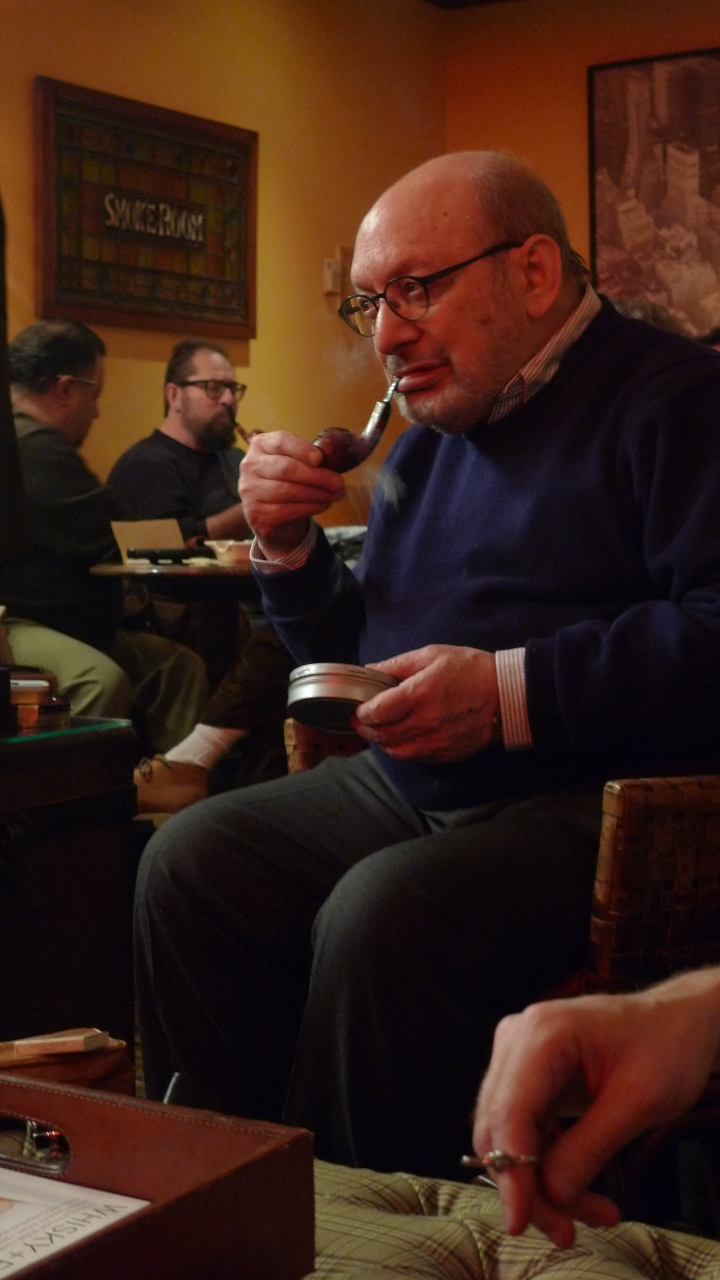 International Pipe Smoking Day celebration with New York Pipe Club Members / Nat Sherman, New York, NY / Leica D-Lux 4