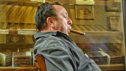 Jeff / NYC Fine Cigars, New York, NY / Leica D-Lux 4