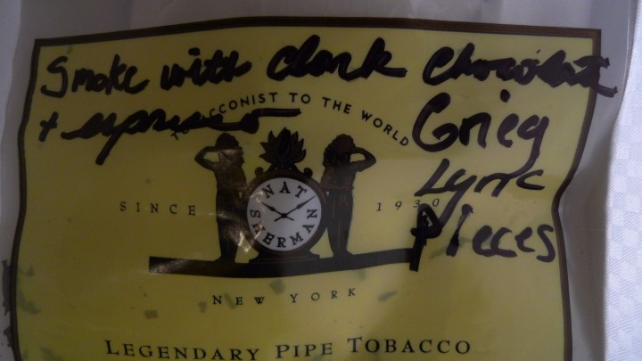 Pipe tobacco, dark chocolate, espresso and the 'Lyric Pieces' from EdvardGrieg