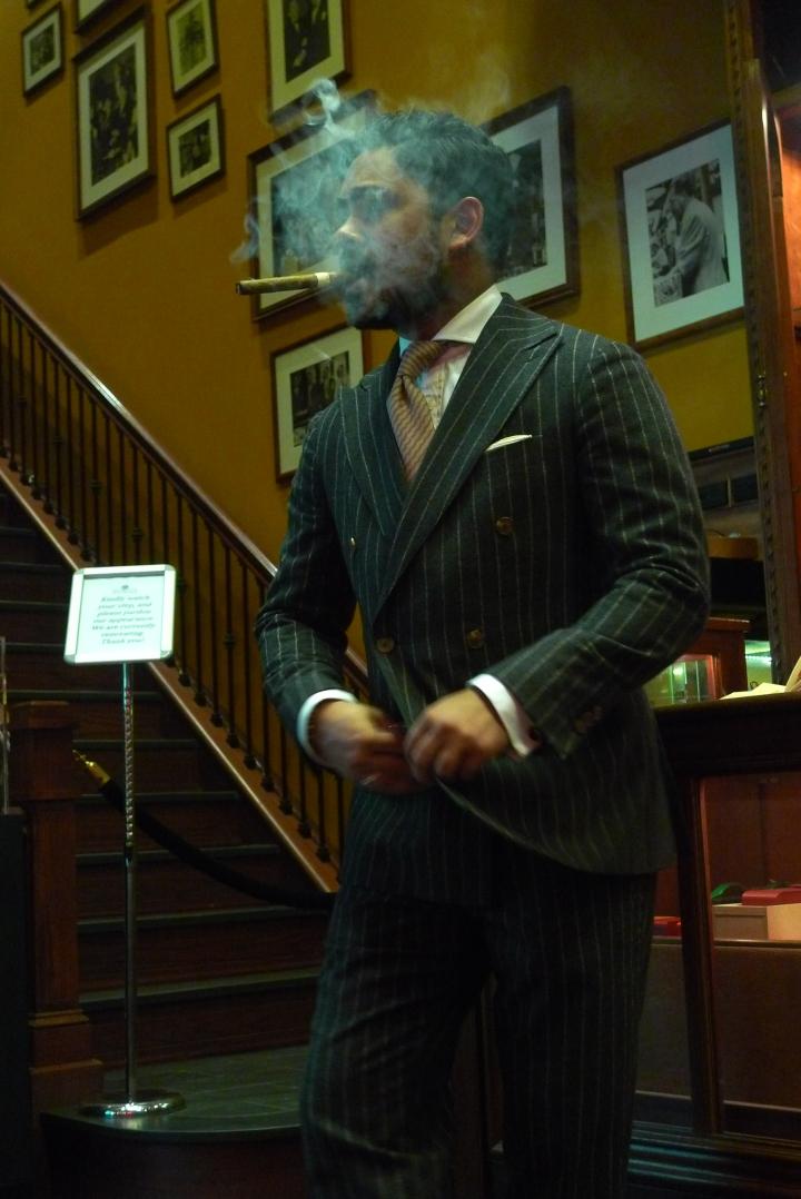 Yakub Huda, Sales Associate, Tobacconist / Nat Sherman, New York, NY / Leica D-Lux 4