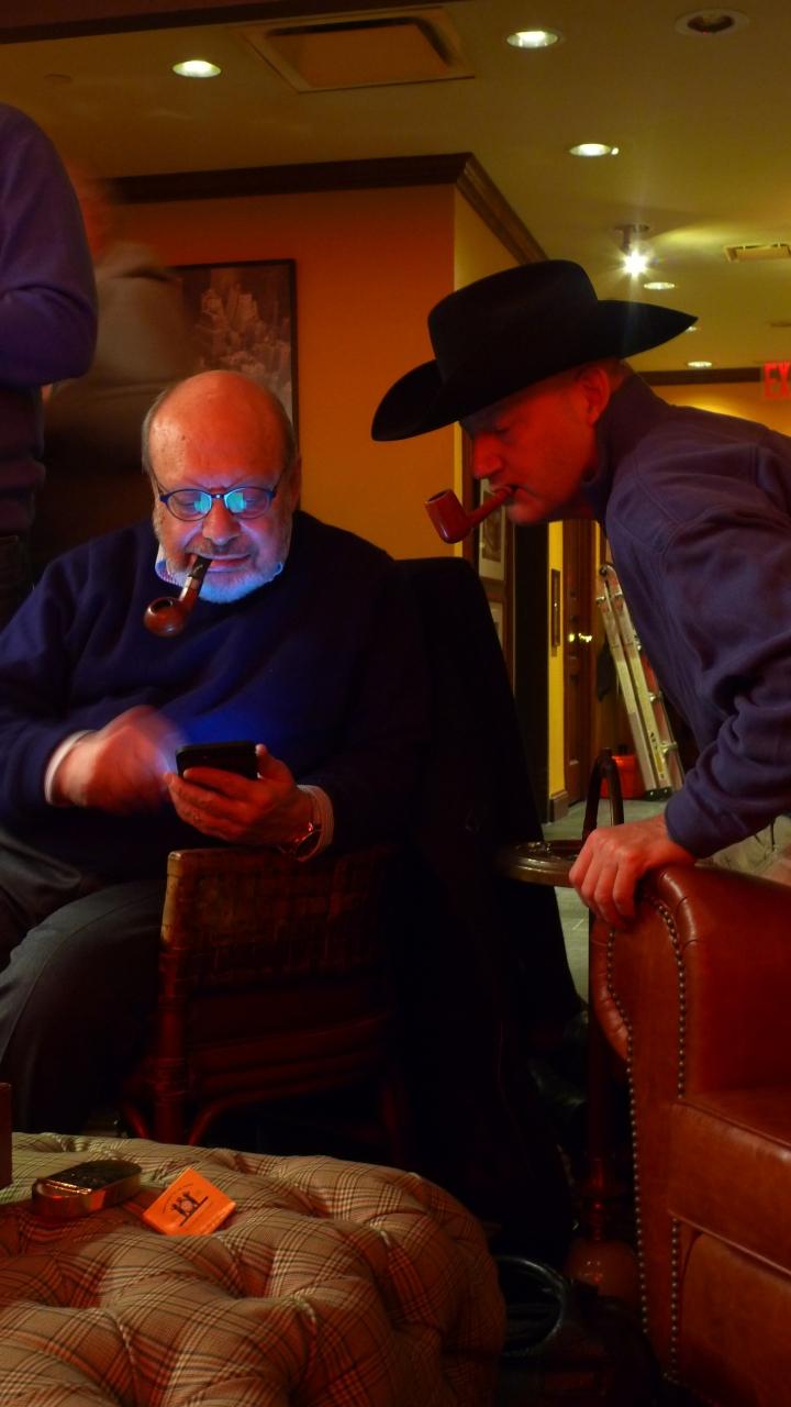 Celebration of International Pipe Smoking Day / New York Pipe Club / Nat Sherman, New York, NY / Leica D-Lux 4