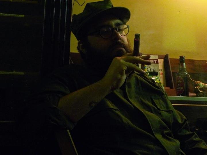 Ricardo / NYC Fine Cigars, New York, NY / Leica D-Lux 4