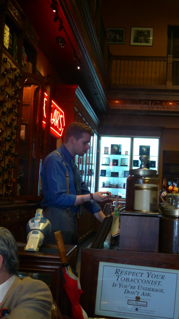 Christopher McGrath - Tobacconist / Nat Sherman, New York, NY / Leica D-Lux 4