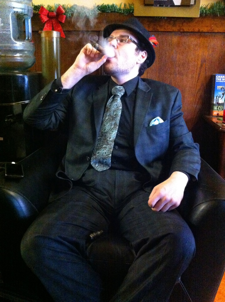 Nick Marchione - Trompeter / NYC Fine Cigars, New York, NY / iPhone 4