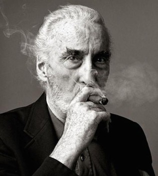 Christopher Lee / Photo: Andy Gotts