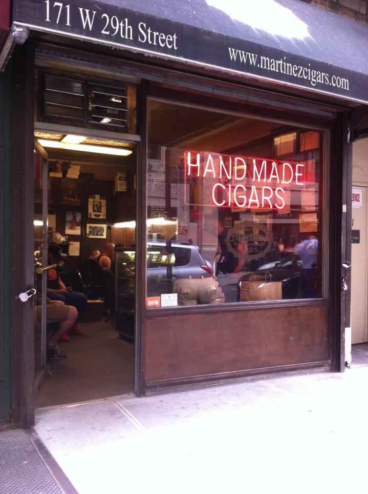 Martinez Hand Rolled Cigars, New York, NY / iPhone 4