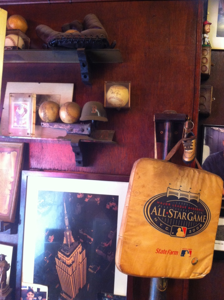 Baseball Memorabilia / Martinez Hand Rolled Cigars, New York, NY / iPhone 4