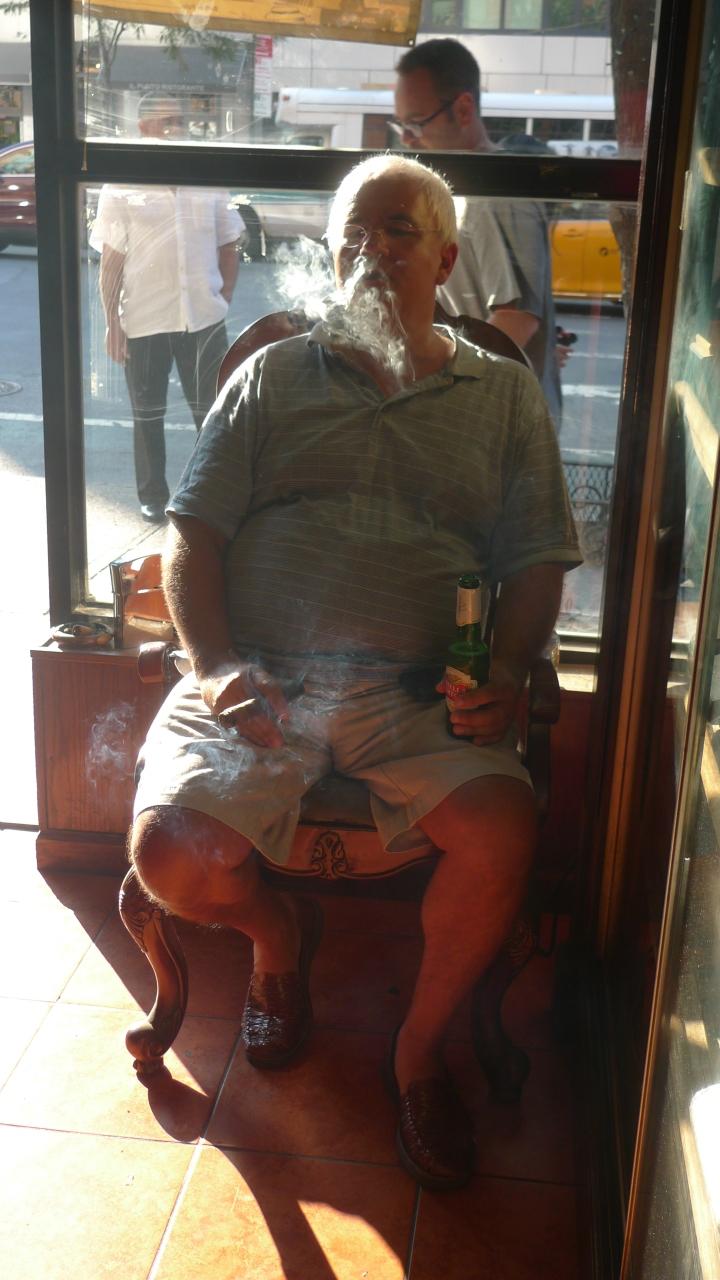 Beer and CigarSmoke