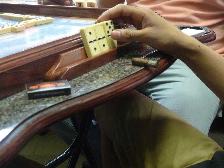 Domino Match / Martinez Handmade Cigars, New York, NY / Leica D-Lux 4