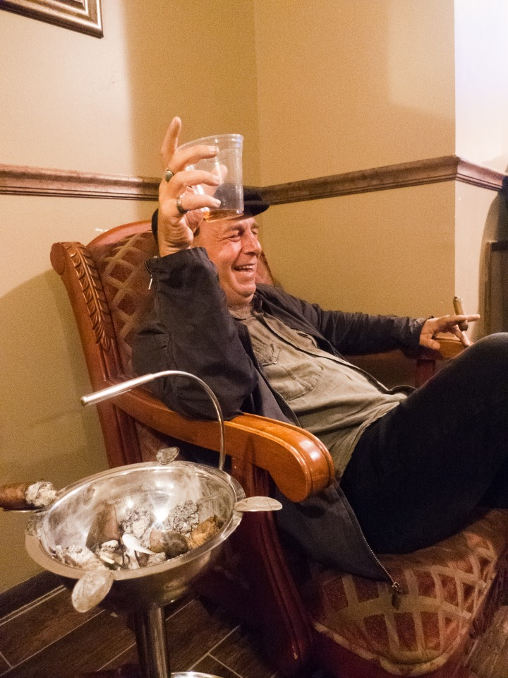 Garry / NYC Fine Cigars, New York, NY / Leica D-Lux 4 / Photo: Sila Blume / processed from RAW by Dmitry Sokolov