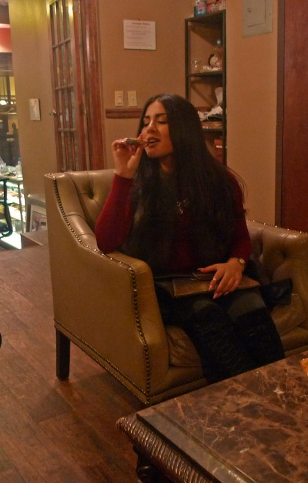 At NYC Fine Cigars, New York, NY / Leica D-Lux 4 / Photo: Sila Blume