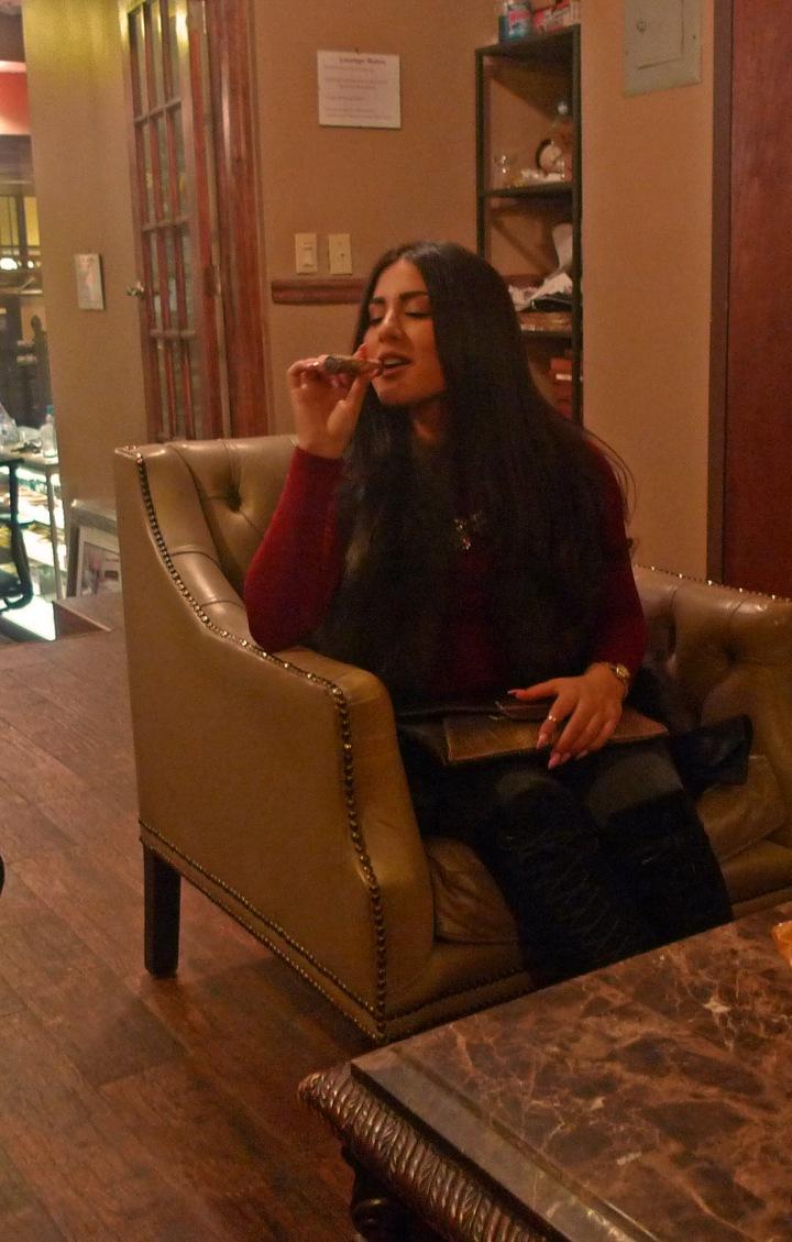 A Cigar break on Valentine's Day