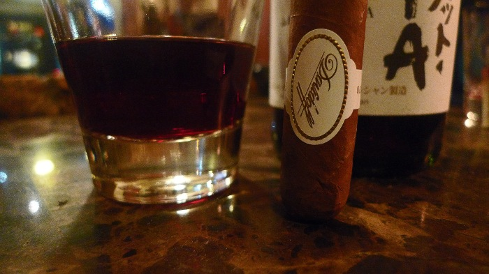 Davidoff Millennium Blend and Chateau Mercian Muscat Bailey A from Yamanashi, Japan / Leica D-Lux 4 / Photo: Sila Blume