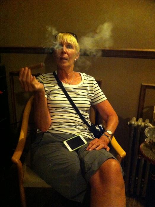 NYC Fine Cigars, New York, NY / iPhone /Photo: Sila Blume