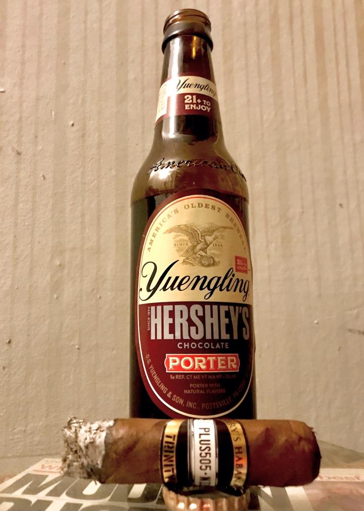 "Yuengling Hershey""s Porter and aCigar"